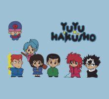 Chibi Hakusho!  One Piece - Short Sleeve