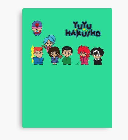 Chibi Hakusho!  Canvas Print