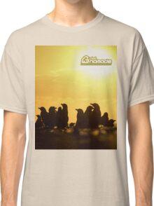 Sunset around penguins Classic T-Shirt
