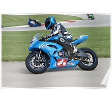 Sport Bike Racer Poster