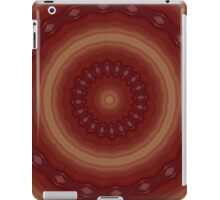 Red kaleidoscope iPad cover iPad Case/Skin