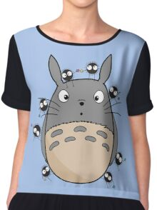 Little Totoro Chiffon Top