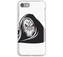 Death hooded evil grusel iPhone Case/Skin