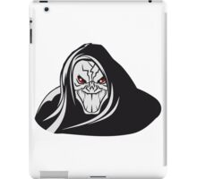 Death hooded evil grusel iPad Case/Skin