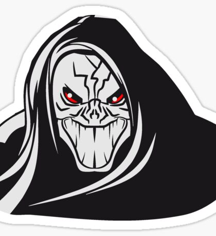 Death hooded evil grusel Sticker