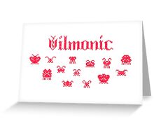 Vilmonic Greeting Card