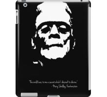 Frankenstein - The Monster - Black and White iPad Case/Skin