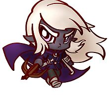 Chibi Dark Elf  by Figment Forms