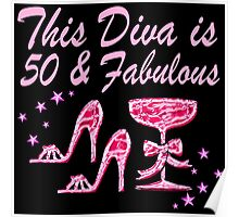 PRETTY PINK 50 AND FABULOUS Poster
