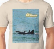 Orcas from Peninsula Valdes Unisex T-Shirt