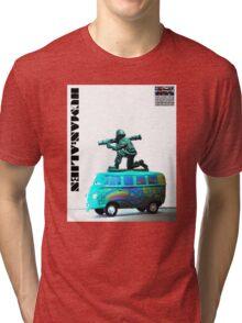 Peace,Love & War (Freedom Fighter) Tri-blend T-Shirt