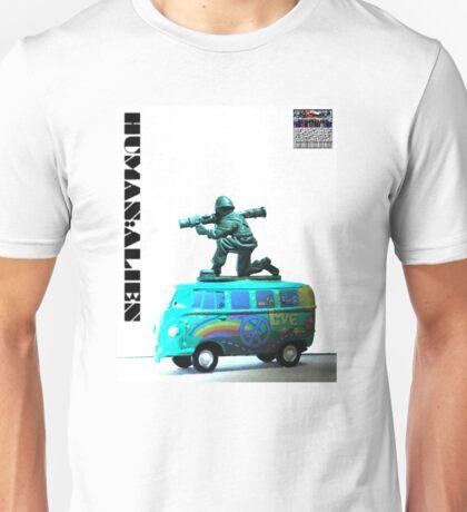 Peace,Love & War (Freedom Fighter) Unisex T-Shirt