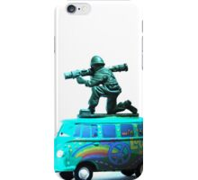 Peace,Love & War (Freedom Fighter) iPhone Case/Skin