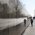 Ghostly Reflections at the Wall by John Carpenter