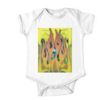 Flames - 4 Way One Piece - Short Sleeve