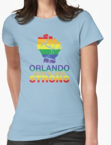 Gay Pride Orlando Strong, Love Is Love Womens Fitted T-Shirt