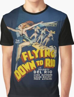 Flying Down to Rio Graphic T-Shirt