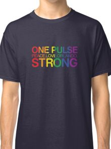 One Pulse, Peace Love Orlando Strong Classic T-Shirt