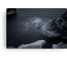 Elements Series.Infra Red - Limestone Sea Canvas Print