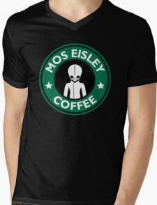 Cantina Coffee Mens V-Neck T-Shirt