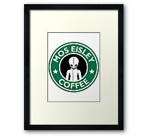 Cantina Coffee Framed Print
