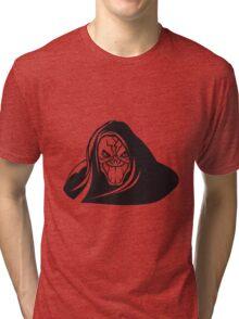 Death hooded evil grusel Tri-blend T-Shirt
