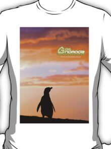 Penguin backlight in Peninsula Valdes - Patagonia Argentina T-Shirt