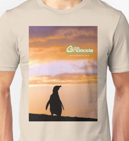 Penguin backlight in Peninsula Valdes - Patagonia Argentina Unisex T-Shirt