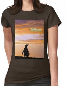 Penguin backlight in Peninsula Valdes - Patagonia Argentina Womens Fitted T-Shirt