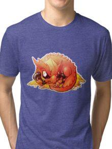 Smaug the Terrible Tri-blend T-Shirt
