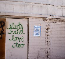 Sluts Need Love Too by Lindsay Osborne