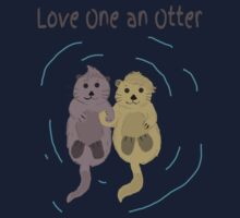Love One An Otter Baby Tee