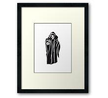 Death hooded evil Framed Print
