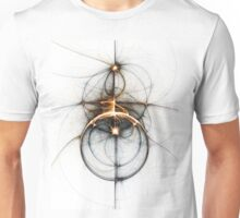 Shooting star - Abstract Fractal Artwork Unisex T-Shirt