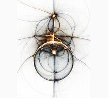Shooting star - Abstract Fractal Artwork Unisex T-Shirt