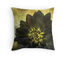 A Golden Heart Throw Pillow