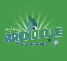 Greetings from Arendelle Kids Clothes
