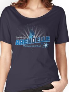 Greetings from Arendelle Women's Relaxed Fit T-Shirt