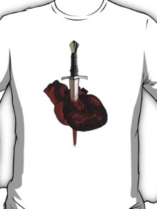 stabbed heart T-Shirt