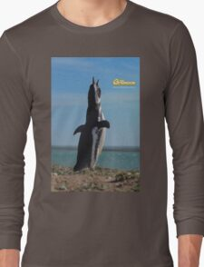 Penguin in Peninsula Valdes - Patagonia Argentina Long Sleeve T-Shirt