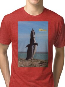 Penguin in Peninsula Valdes - Patagonia Argentina Tri-blend T-Shirt