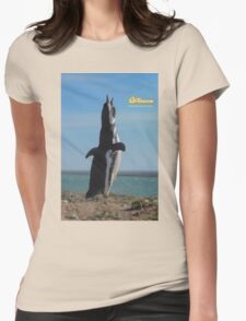 Penguin in Peninsula Valdes - Patagonia Argentina Womens Fitted T-Shirt