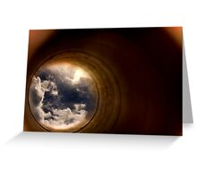 Impossible Sky Greeting Card
