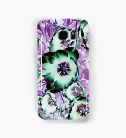 Psychedelic Blooms Samsung Galaxy Case/Skin