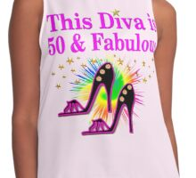 50 AND FABULOUS Contrast Tank
