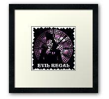 Evil Regal Framed Print