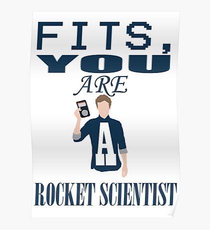 Rocket Scientist  Poster