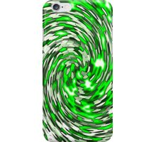 Green Bowl Full of Whimsey Abstract Mosaic iPhone Case/Skin