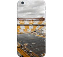 Bleed Orange and White iPhone Case/Skin