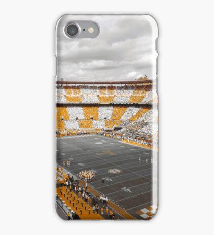 Bleed Orange and White iPhone Case/Skin